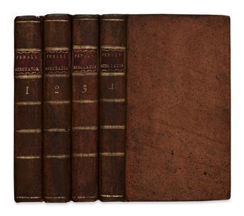 HAYWOOD, ELIZA. The Female Spectator. 4 vols. 1775