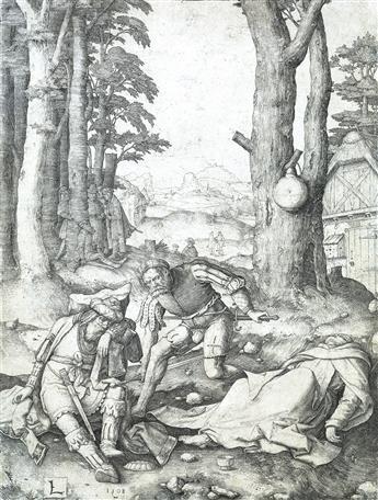 LUCAS VAN LEYDEN Mahomet and the Monk Sergius.