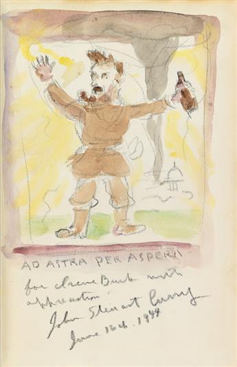 (CURRY, JOHN STEUART.) Schmeckebier, Laurence E. John Steuart Currys Pageant of America.