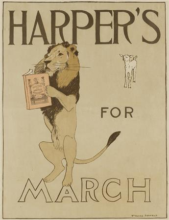 EDWARD PENFIELD (1866-1925). HARPERS FOR MARCH. 1894. 16x12 inches, 40x31 cm.