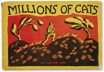 (CHILDRENS LITERATURE.) GAG, WANDA. Millions of Cats.