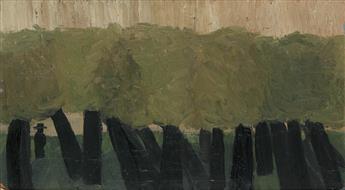 BOB THOMPSON (1937 - 1966) Untitled (Hidden Figure in Trees).