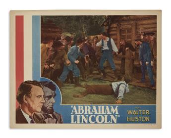 (EPHEMERA.) Group of 20th-century Lincoln ephemera.
