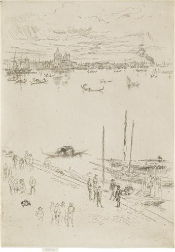 JAMES A. M. WHISTLER Upright Venice.
