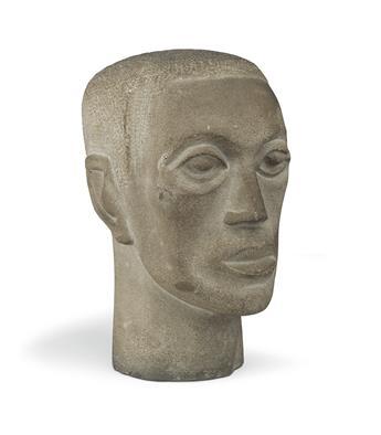 ELIZABETH CATLETT (1915 - 2012) Head (Head of a Man).