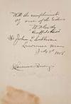 CODY, WILLIAM F. BUFFALO BILL. A Thrilling and Truthful History of the Pony Express. Signed W. F. Cody Buffalo Billand Inscribed to