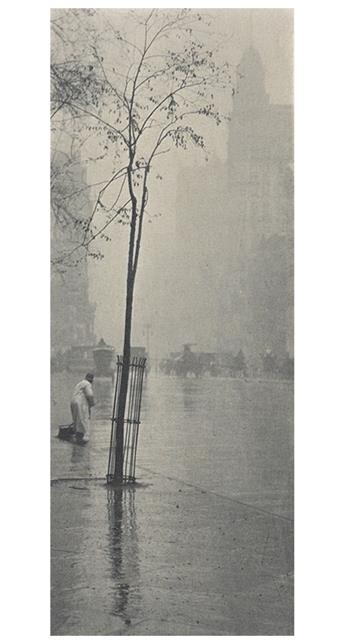 STIEGLITZ, ALFRED (1864-1946) Spring Showers, New York, from Camera Work, Number 36.