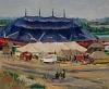 LÖIS M. JONES (1905 - 1988) Circus Tents.