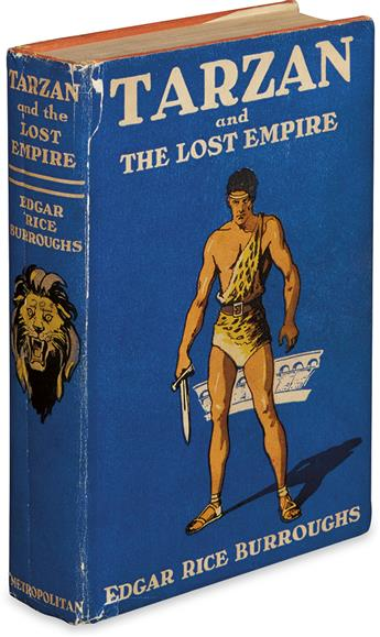 BURROUGHS, EDGAR RICE. Tarzan and the Lost Empire.