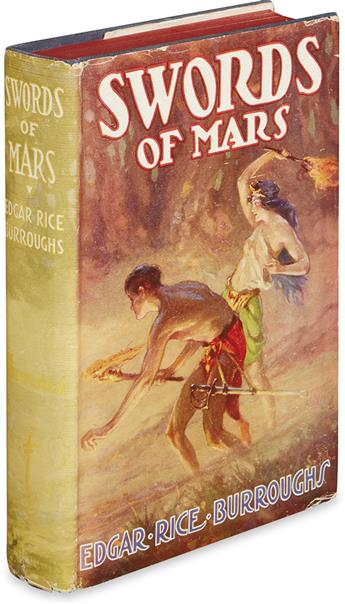 BURROUGHS, EDGAR RICE. Swords of Mars.