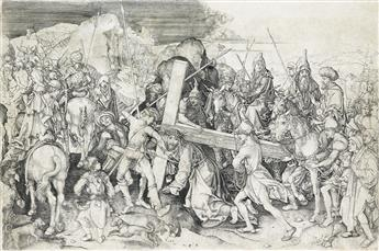 MARTIN SCHONGAUER Christ Carrying the Cross: the Large Plate.