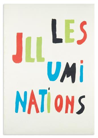(DELAUNAY, SONIA.) Rimbaud, Arthur. Les Illuminations.