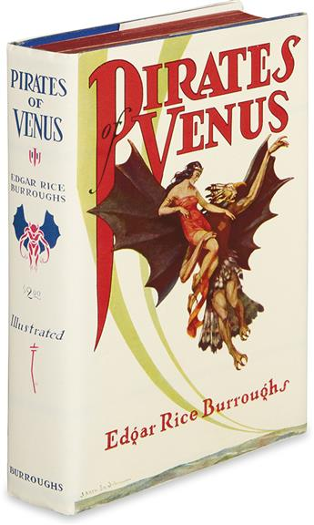 BURROUGHS, EDGAR RICE. Pirates of Venus.