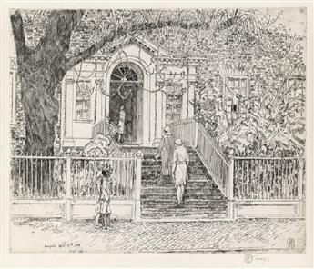 CHILDE HASSAM The Chase House (Annapolis).