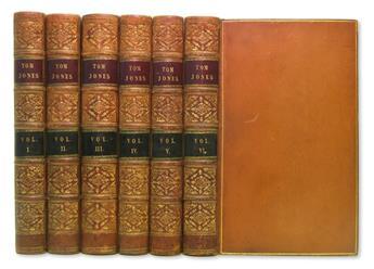 FIELDING, HENRY.  The History of Tom Jones.  6 vols.  1749
