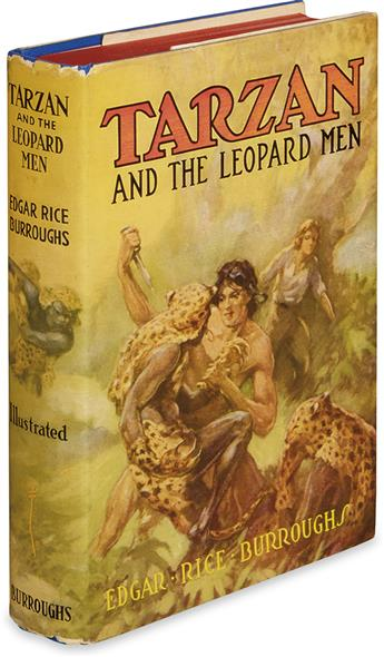 BURROUGHS, EDGAR RICE. Tarzan and the Leopard Men.