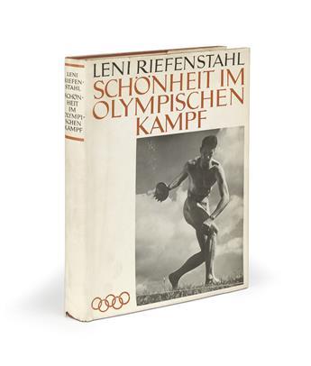 LENI RIEFENSTAHL. Schönheit im Olympischen Kampf [Beauty in the Olympic Games].