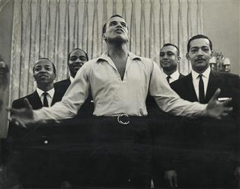 ROY DECARAVA (1919 - 2009) Untitled (Harry Belafonte, Carnegie Hall).