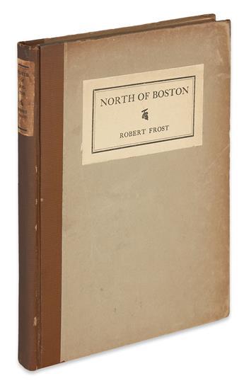 FROST, ROBERT. North of Boston.