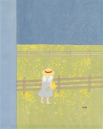 (THE NEW YORKER) HEIDI GOENNEL. Wild Flowers.