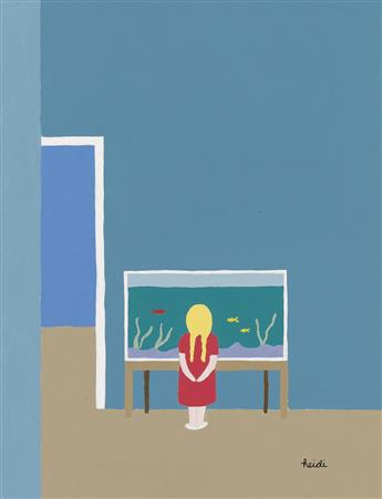 (THE NEW YORKER) HEIDI GOENNEL. Fish Tank.