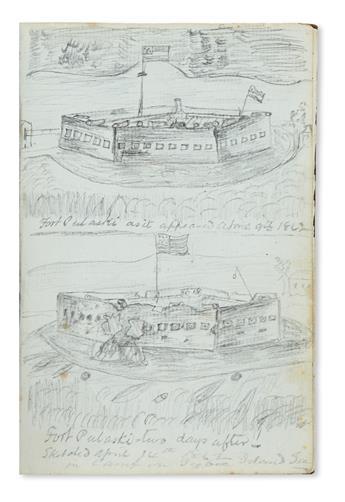 (CIVIL WAR--PENNSYLVANIA.) Reinoehl, Adam C. Diary of a soldier in the Keystone Zouaves.
