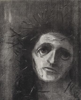ODILON REDON Christ.