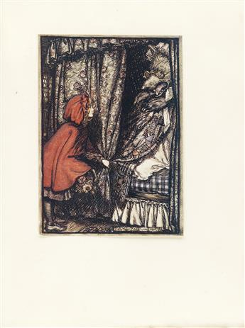 (RACKHAM, ARTHUR.) Grimm Brothers. The Fairy Tales of the Brothers Grimm.