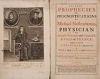 NOSTRADAMUS, MICHEL DE.  1672  The True Prophecies or Prognostications.