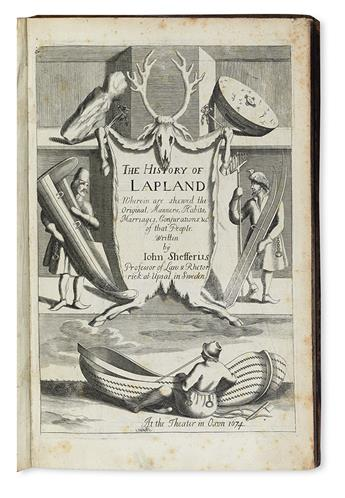 SCHEFFER, JOHANNES. The History of Lapland. 1674