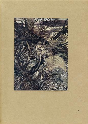 (RACKHAM, ARTHUR.) La Motte-Fouqué, Friedrich de. Undine.