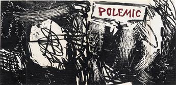 ROY LICHTENSTEIN Cover for Polemic Magazine.