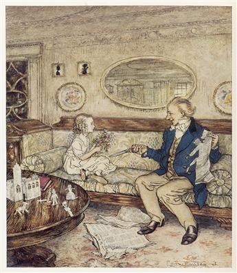 (RACKHAM, ARTHUR.) Andersen, Hans [Christian]. Fairy Tales by Hans Andersen.