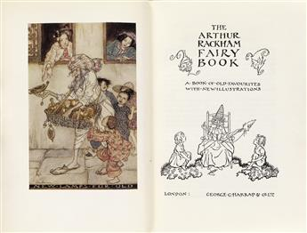 RACKHAM, ARTHUR. The Arthur Rackham Fairy Book.