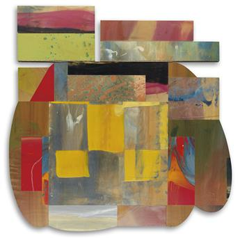 SAM GILLIAM (1933 -   ) Closure I.