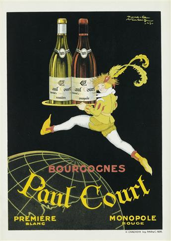 VARIOUS ARTISTS. [INTERNATIONAL WINE.] Group of 11 posters. Sizes vary.