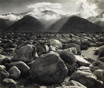 ANSEL ADAMS (1902-1984) Mt. Williamson, from Manzanar, Owens Valley, California.