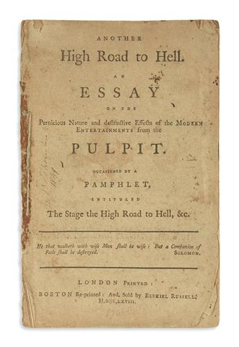 (EARLY AMERICAN IMPRINTS.) Group of 32 18th-century sermons.
