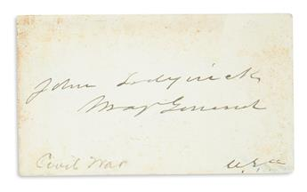 (CIVIL WAR.) Group of over 50 Signatures by Civil War soldiers, mostly Union Generals or Admirals,