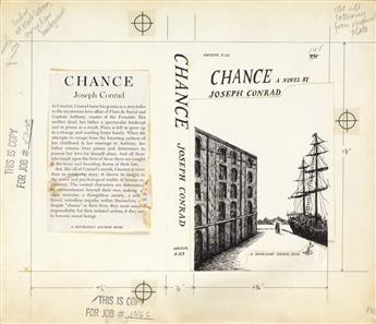 EDWARD GOREY. Chance, a Novel by Joseph Conrad.