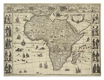 BLAEU, WILLEM. Africae Nova Descriptio.
