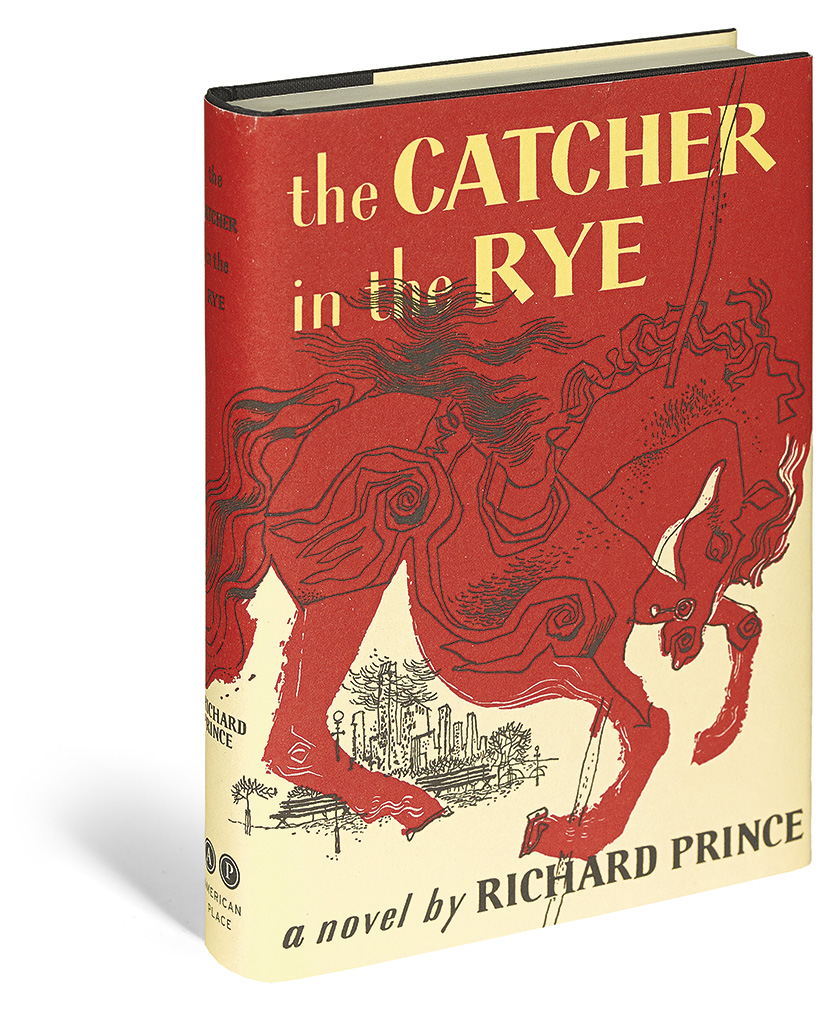 book report on the catcher in